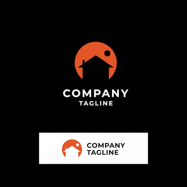 Collection of real estate logos Premium Vector