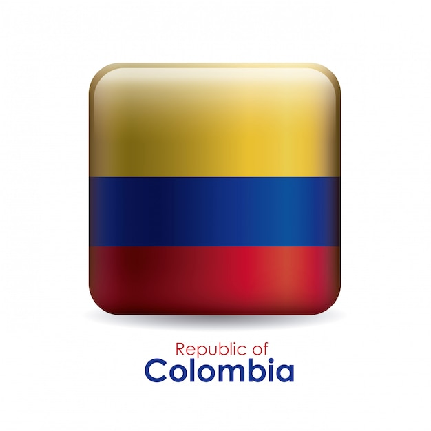 Colombia design Premium Vector
