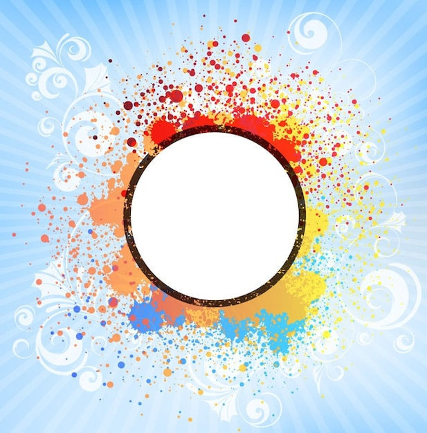 color splash tile abstract vector vector free download