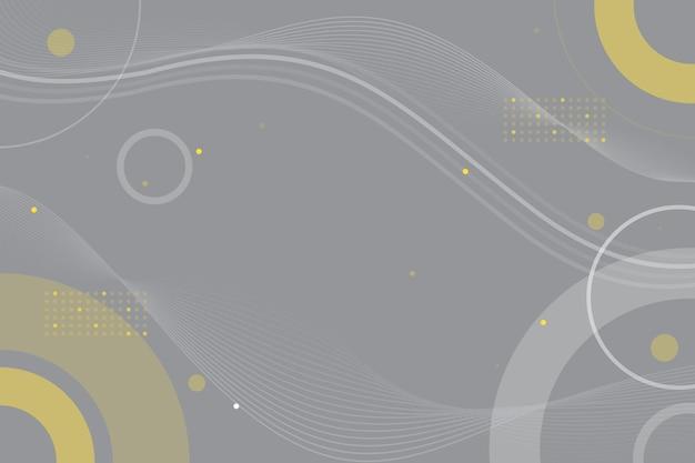 Colore dell'anno 2021 astratto sfondo ondulato Vettore gratuito