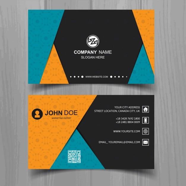 Colored business card template design vector id card illustration colored business card template design vector id card illustration with curved stripes colourmoves