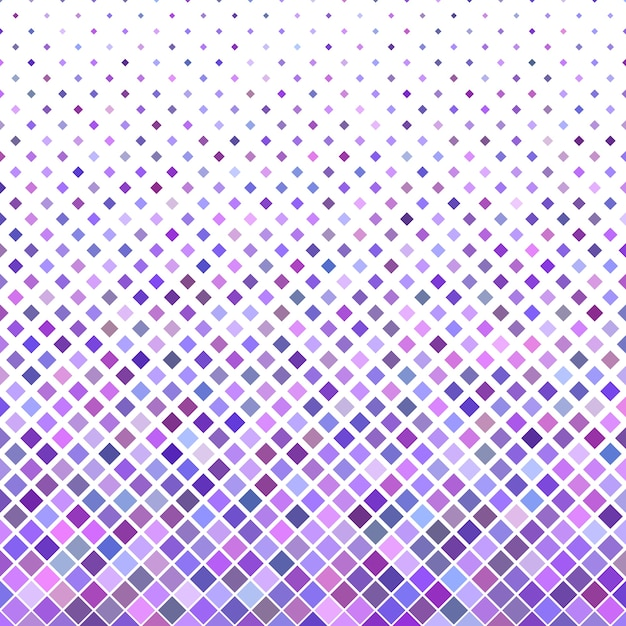 Colored abstract diagonal square pattern background - vector design from purple squares Free Vector