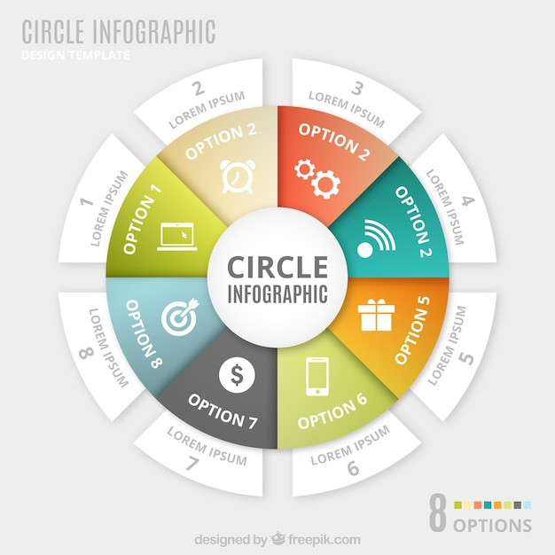 Circular Graphics Design