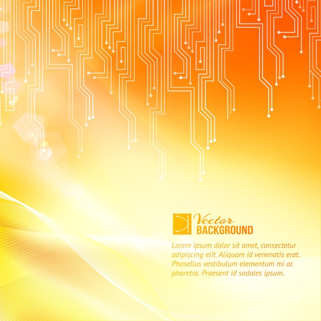 Цветной фон абстракции схемы с образцом текстового шаблона Бесплатные векторы