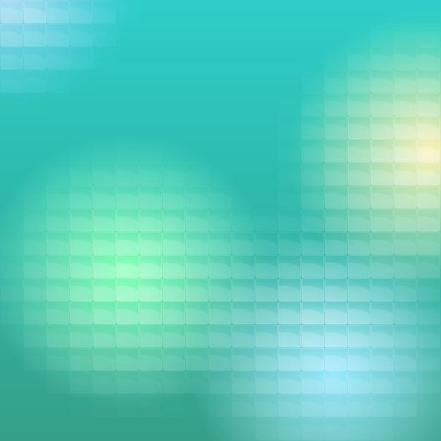 色付きの光は半透明のブロックを通過します 無料ベクター