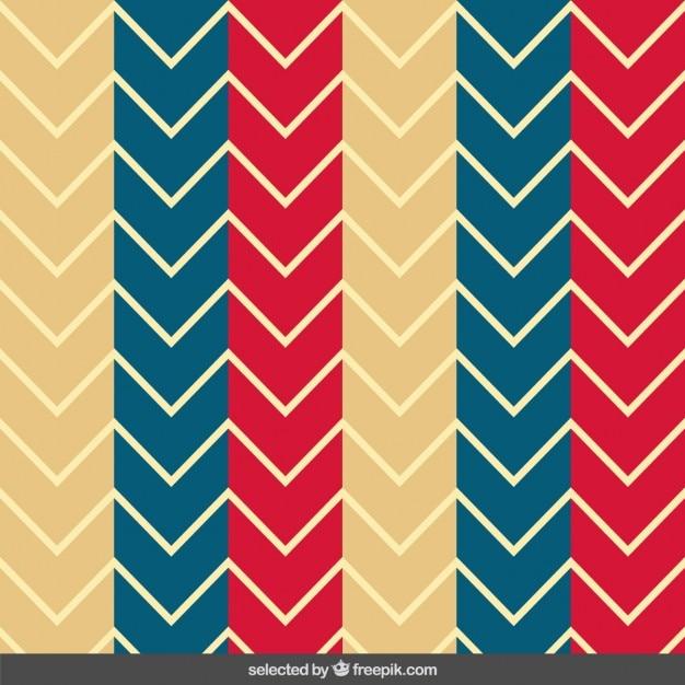 colored zig zag pattern vector free download. Black Bedroom Furniture Sets. Home Design Ideas
