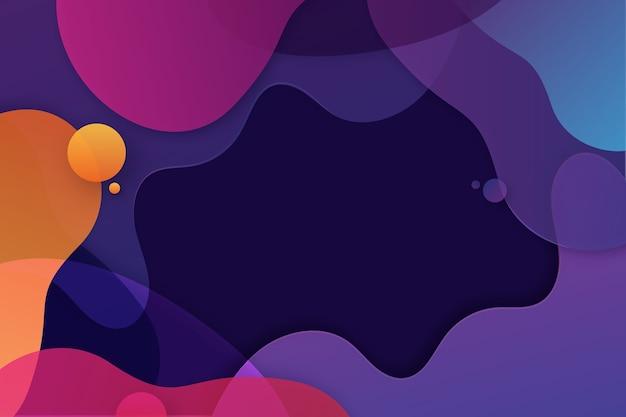 Красочный абстрактный фон концепции Бесплатные векторы