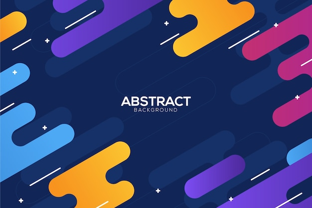 Free Vector Colorful Abstract Background Concept