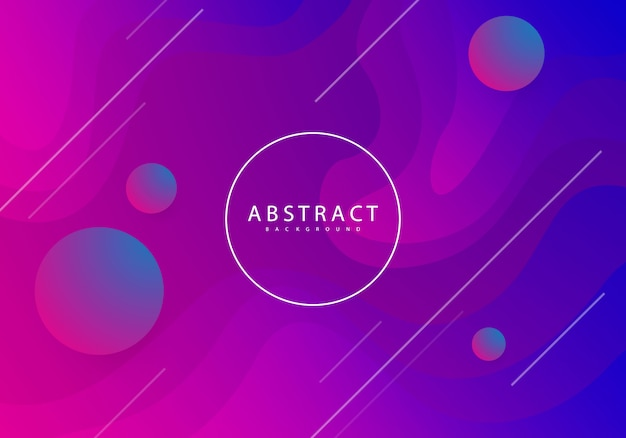 Colorful abstract background, modern design Premium Vector