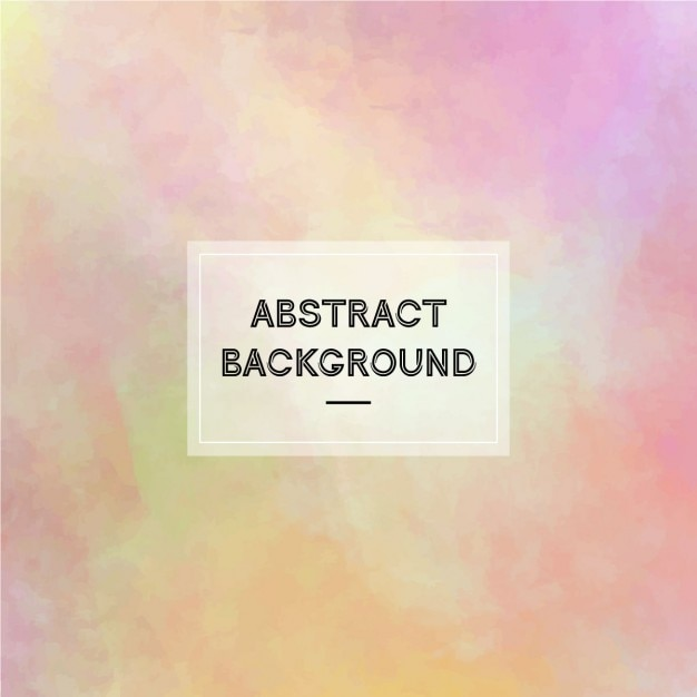 Colorful abstract background painted with watercolors