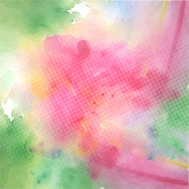 Colorful abstract background, watercolor stains texture