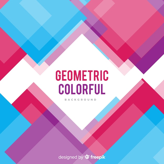 Colorful abstract background with modern style Free Vector