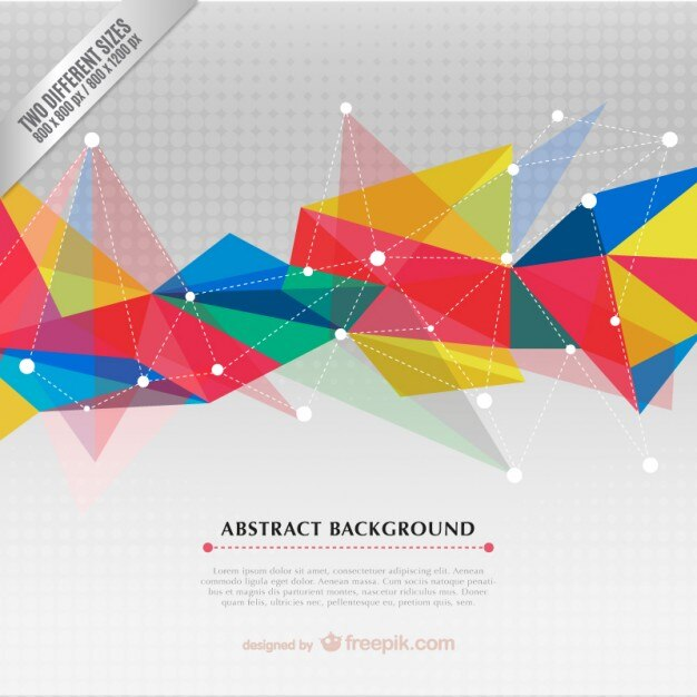 Colorful Abstract Background Vector Free Download