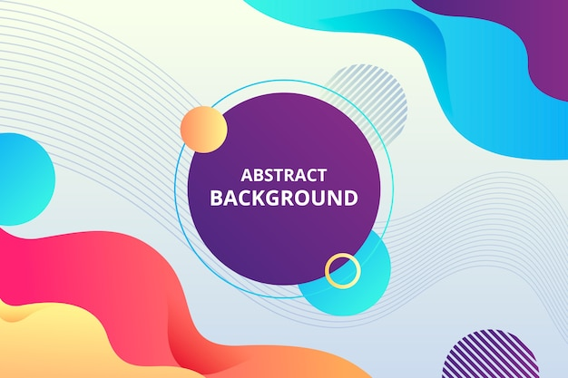 Colorful abstract background Free Vector