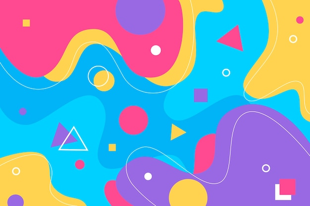 Colorful abstract background Premium Vector