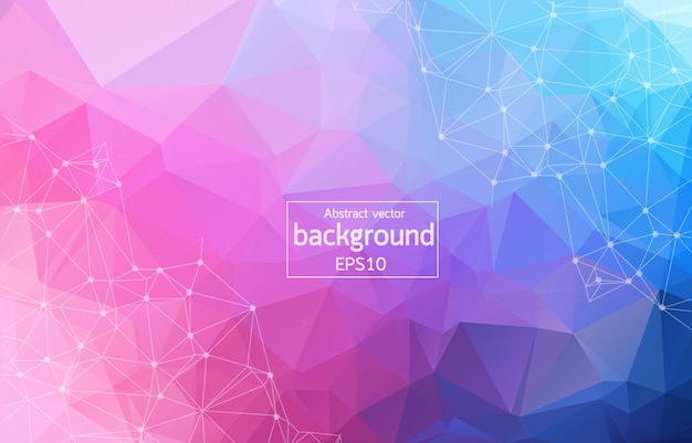 Colorful abstract background. Premium Vector