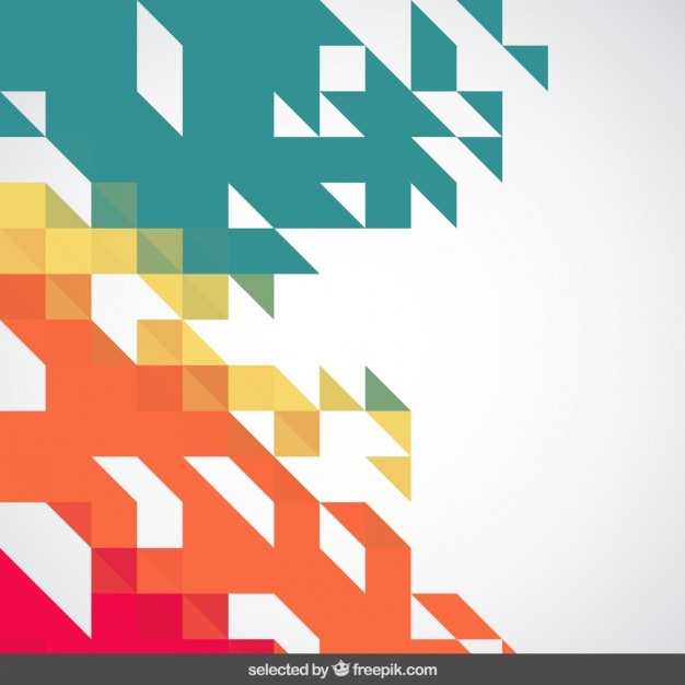 Free Vector Colorful Abstract Geometric Background