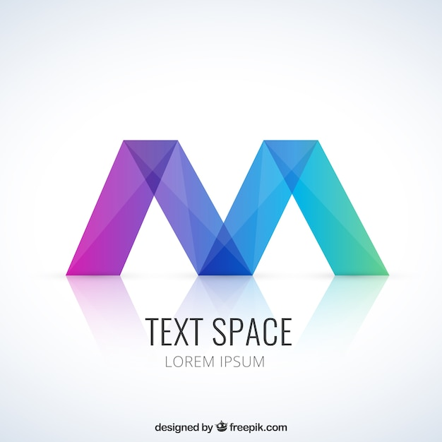 colorful abstract logo free vector