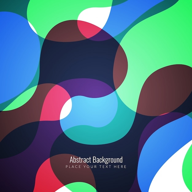 Colorful abstract modern background