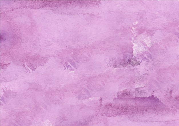 Colorful abstract purple watercolor background Premium Vector