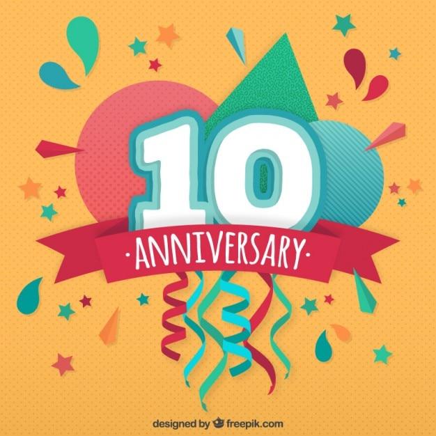 Company Anniversary Celebration Background
