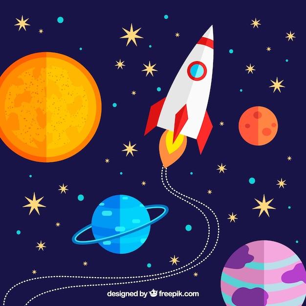 космос ракета звезды картинки черногория