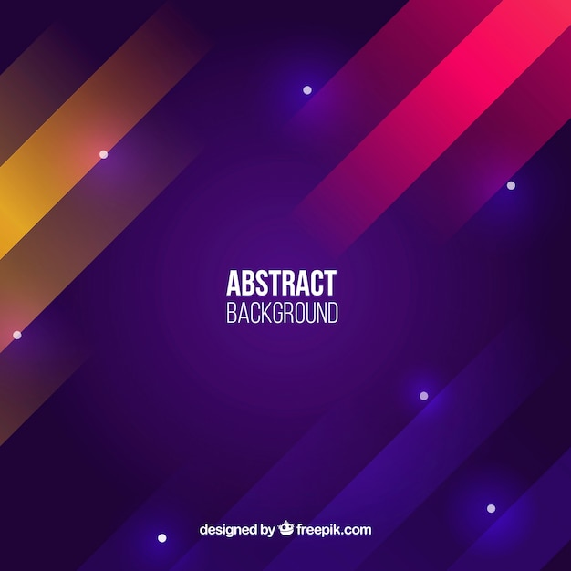 Colorful Background With Abstract Style Vector Free Download