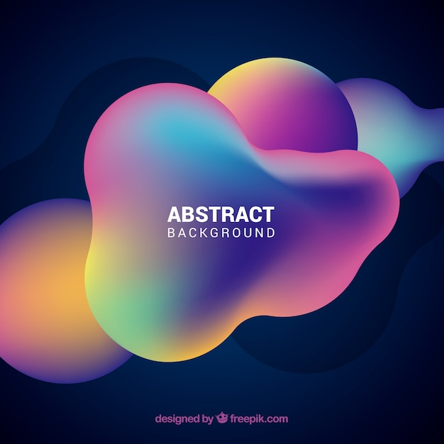 Colorful background with abstract style Free Vector