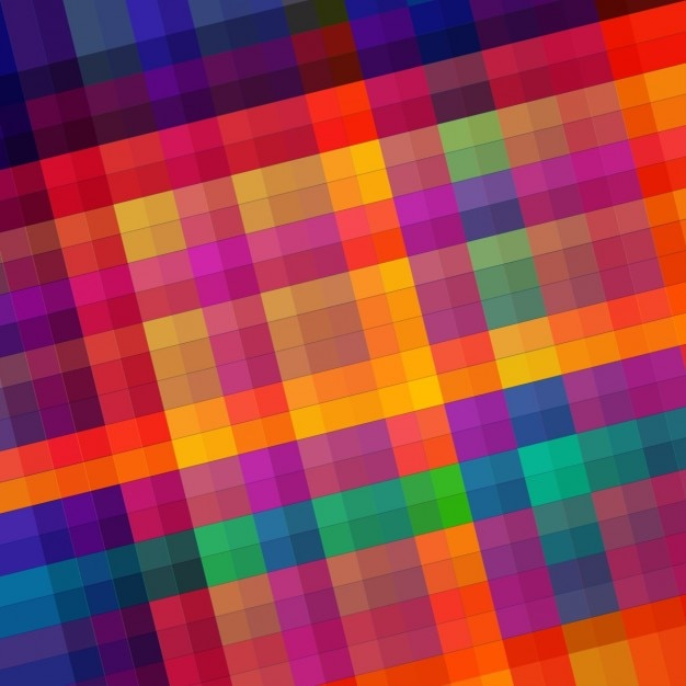 Colorful Block Background Vector Free Download