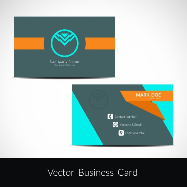 Colorful business card design vector free download colorful business card design free vector colourmoves