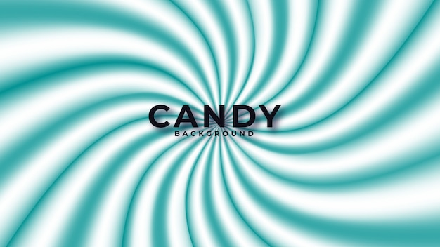 Colorful candy abstract background Premium Vector