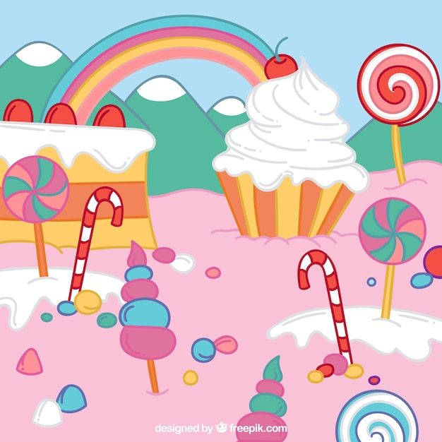 Sweet Abstract Art Backgrounds