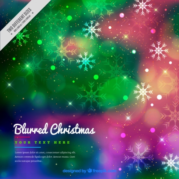 Colorful Christmas Background Design.Download Vector Background Of Colorful Snow Houses In Flat