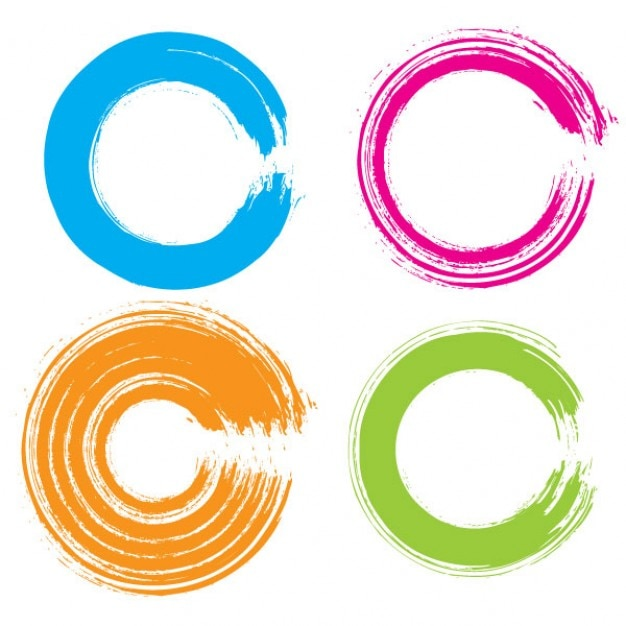colorful circle vector graphic - photo #36
