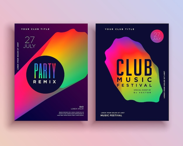 How To Design A Club Flyer For Free Online
