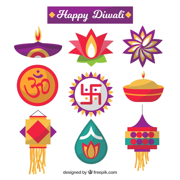 Colorful diwali collection