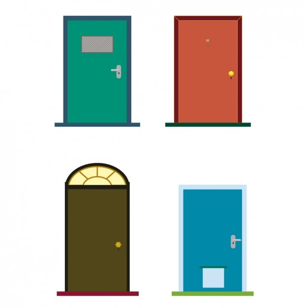 Colorful doors  sc 1 st  Freepik & Door Vectors Photos and PSD files | Free Download pezcame.com