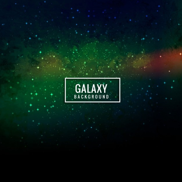 colorful galaxy background vector free download