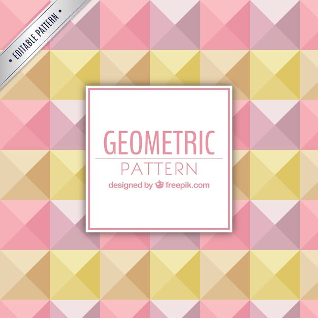 Colorful geometric pattern Free Vector