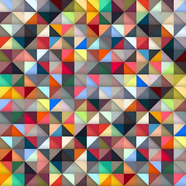 Colorful geometric Premium Vector