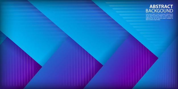 Colorful gradient arrow shapes background Premium Vector
