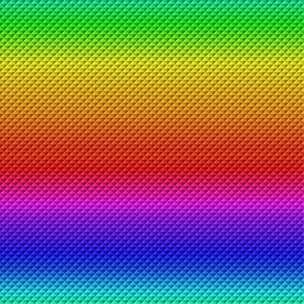 Colorful gradient geometric abstract tile texture background Premium Vector