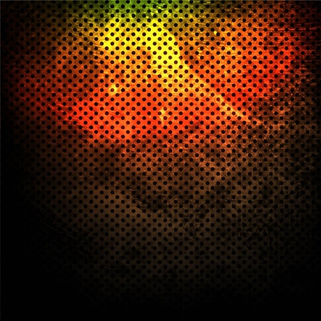 Colorful grunge background with dots