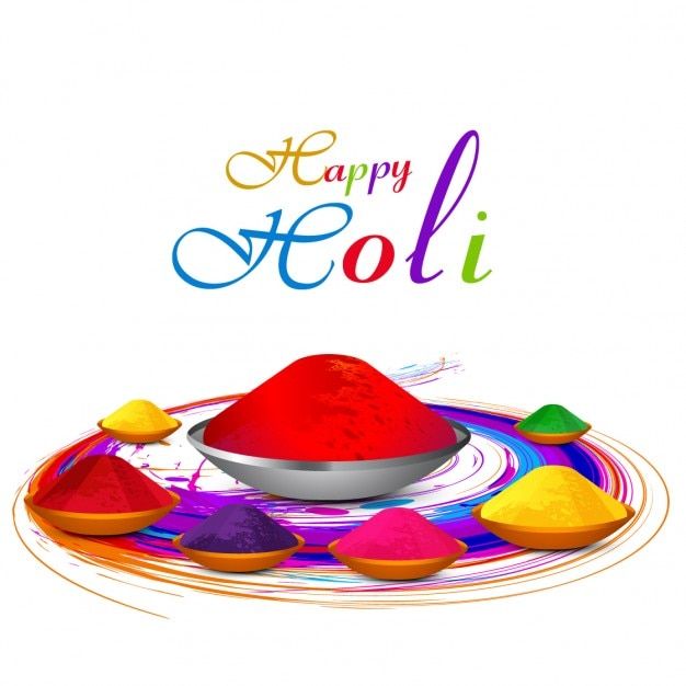 Colorful holi greeting vector free download colorful holi greeting free vector m4hsunfo