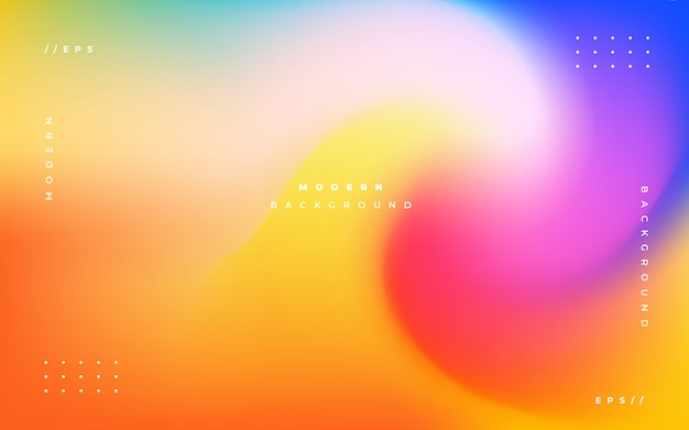 Colorful holographic abstract background Free Vector