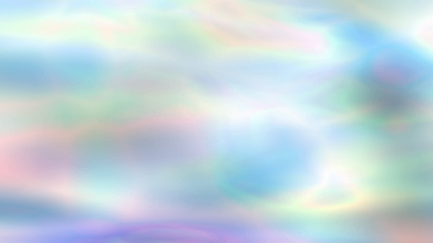 Colorful holographic blurred background in neon colors, trendy wallpaper - foil texture Premium Vector