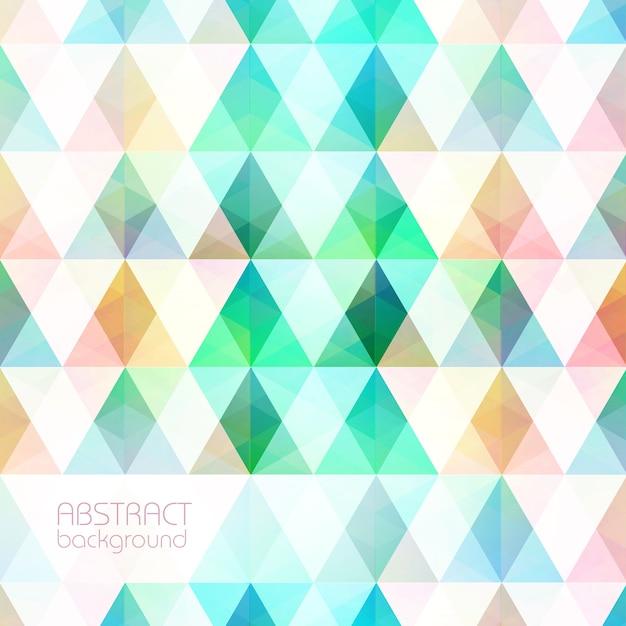 Красочный свет мозаика сетка фон Бесплатные векторы