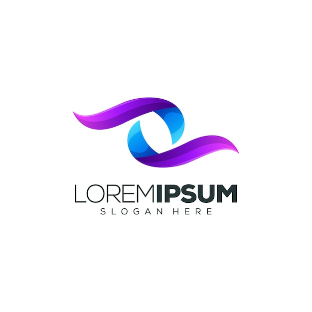 Colorful logo design vector illustration Premium Vector
