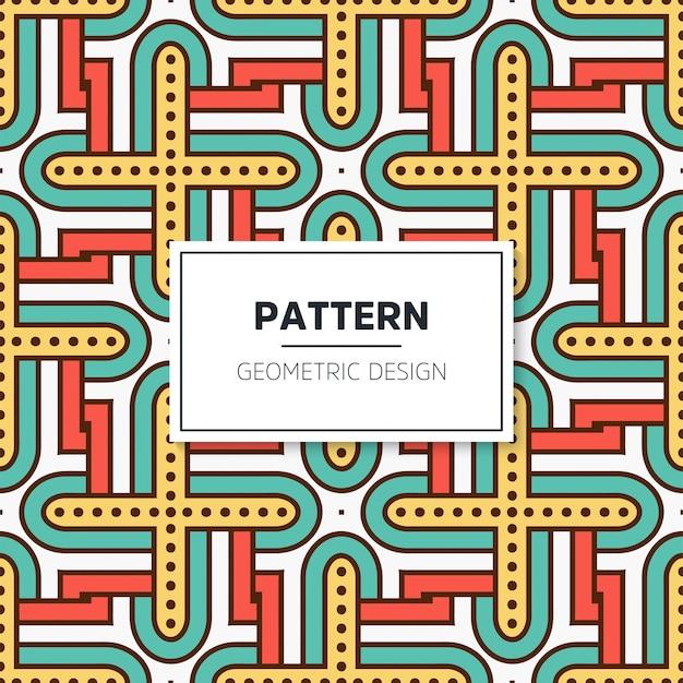 Colorful mandala seamless pattern Free Vector