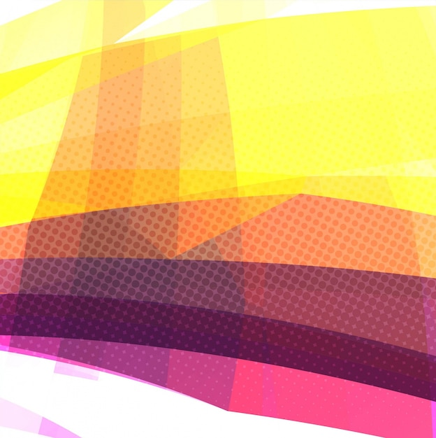 Colorful modern background with abstract shapes